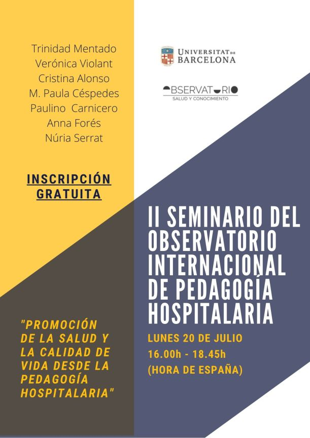 II SEMINARIO DEL OBSERVATORIO INTERNACIONAL DE PEDAGOGIA HOSPITALARIA (1).jpg